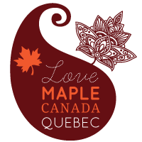 Maple syrup logo