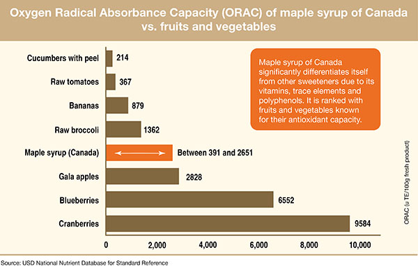antioxidants in maple syrup